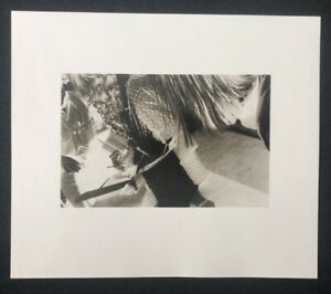 Silke Grossmann, motivo VII, 1977, fotografia, 1981, a mano firmata e datata