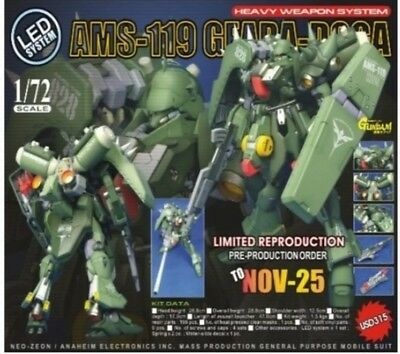 G system best Unpainted 1/ 72 AMS-119 Geara-Doga,gundam, 0079,