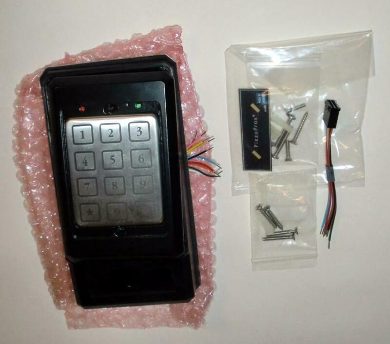 Essex Electronics PPH-103-KN Keyless Entry Kit PiezoProx Reader