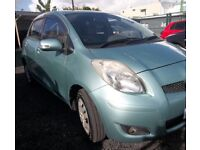 Toyota Yaris petrol breaking parts
