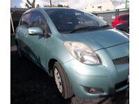 Toyota Yaris breaking parts