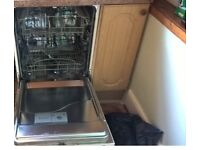 Baumatic intregrated dishwasher