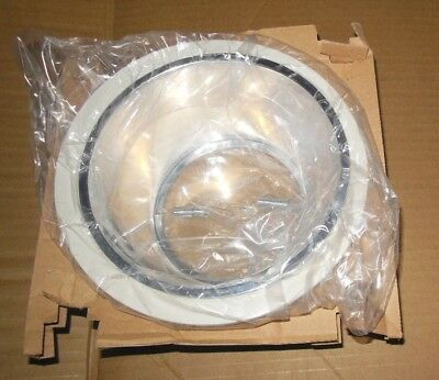 Contech Lighting Ctr3002-clr Trim For Recessed Can White