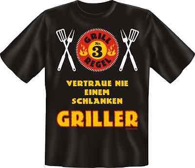 FUN T-SHIRT Geschenk Grillen Grillparty schwarz   Gr.  S M L XL XXL  NEU 6943