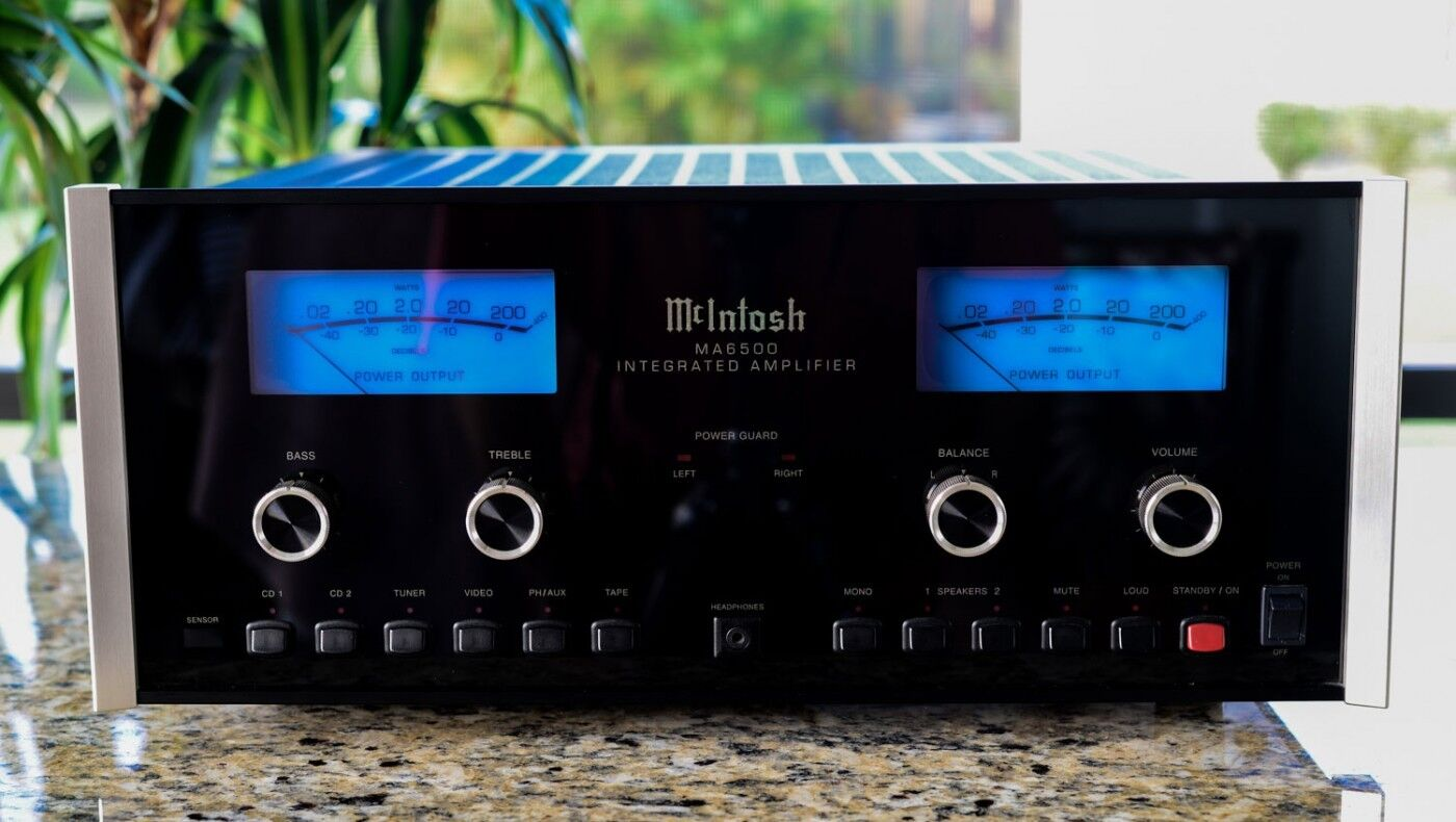 McIntosh MA6500 complete set of 12 LED  bulbs light lamps + FILTERS