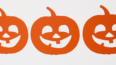 Fun Pumpkin Halloween Wall Art Vinyl Decals/Stickers - various colours and sizes