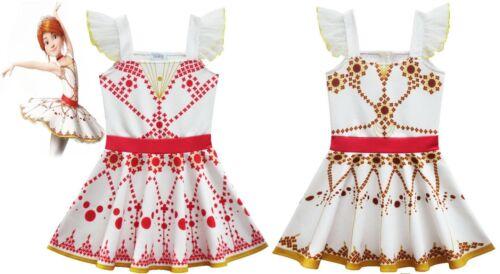 US STOCK Girls Leap! Felicie Costume Ballet Dancing Tutu Skirt Dress ZG9