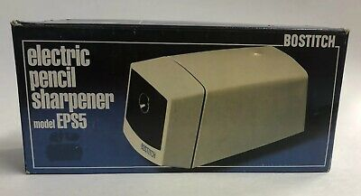 Bostitch Model Eps5 Desktop Electric Pencil Sharpener Tested Working Used In Box