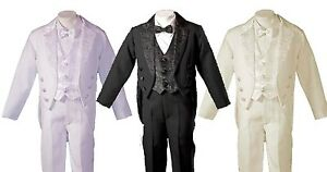 Boys-Tuxedo-Style-Tail-Suit-Perfect-for-Christening-Baptism-3-Months-to-6-Years