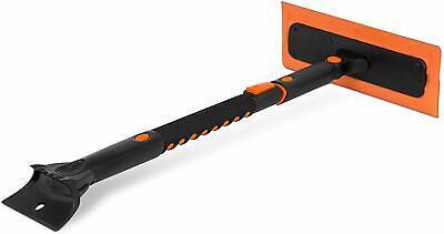 "Snow MOOver 39"" Extendable Snow Foam Brush Broom Ice Scraper Remover * NEW"