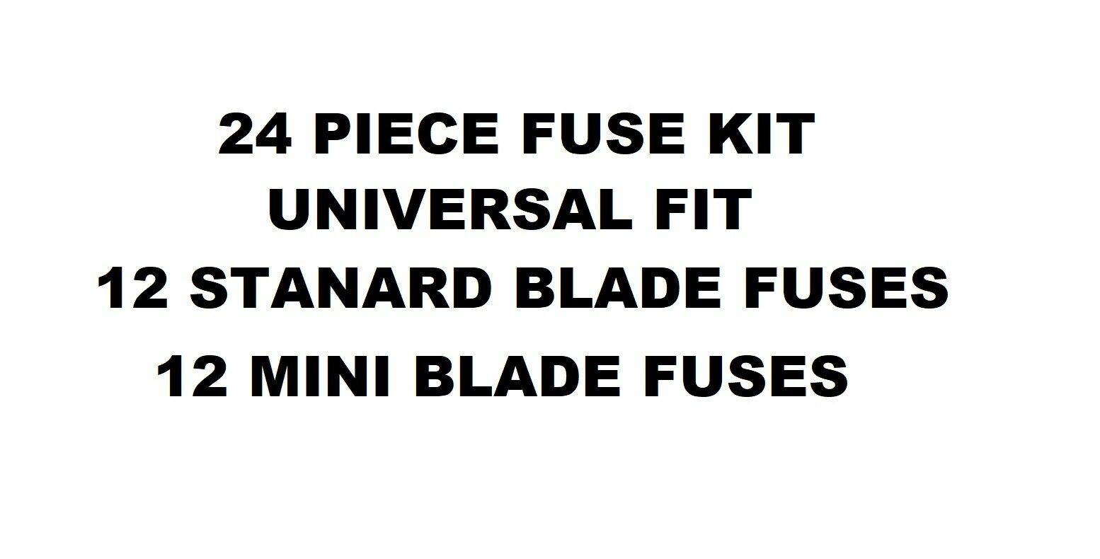 Car Blade Mini Standard Fuse Box Kit 5 10 15 20 25 30 Amp Universal 2 Of See More