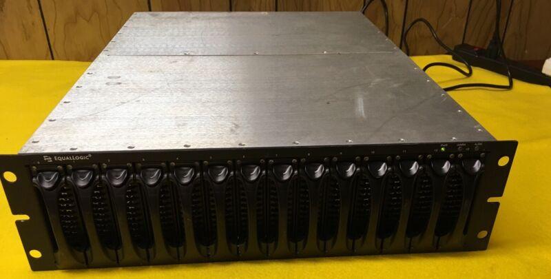 Equallogic SAN ISCSI Peer Storage Array 5.6TB SATA II Controller