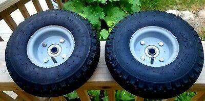 2 X 10 Wheel 3.00-4 260 X 85 Steel Rim 58 Bore Sack Barrow Trolley Cart