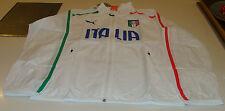 2014 Team Italy World Cup Soccer Football Walk Out On Field Jacket Medium Puma