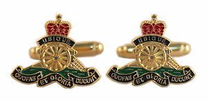 RA-ROYAL-ARTILLERY-ENAMEL-CUFFLINKS-CUFF-LINKS-BRAND-NEW-BOXED-IDEAL-PRESENT