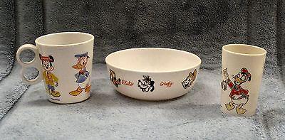 Vintage Mickey Mouse Breakfast Set