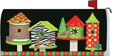 """CUSTOM DECOR"" CHRISTMAS BIRDHOUSES MAGNETIC  MAILBOX MAKEOV"
