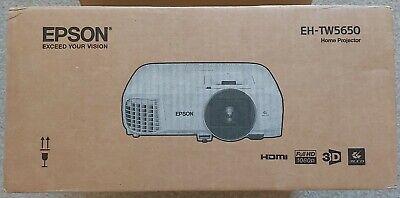 Epson EH-TW5650, 3D, Full HD, Home Cinema Projector
