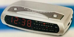 Emerson Research SmartSet Clock Radio AM/FM Radio CKS2021