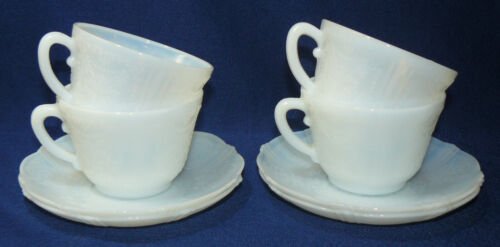 Four Monax Macbeth-Evans American Sweetheart Cups and Saucers