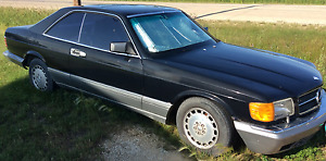 1986 560SEC Mercedes Benz Coupe