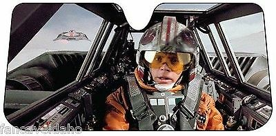 Star Wars Snow Speeder Luke Car Auto Windshield Sun Shade Su