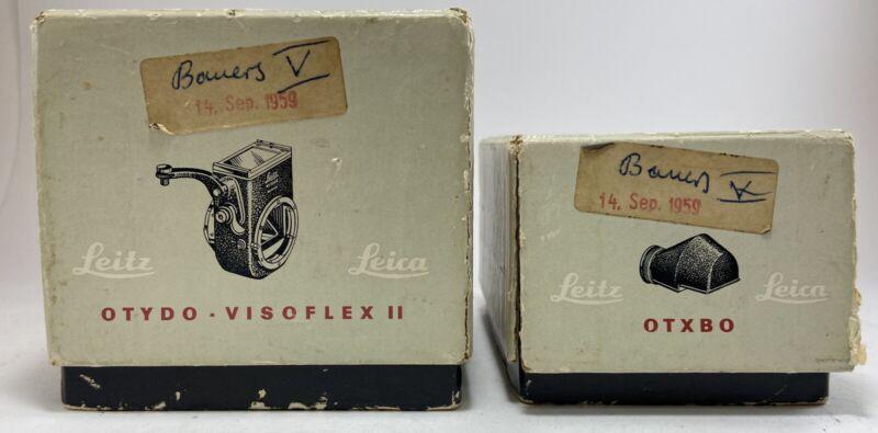Vintage Leitz Leica OTYDO -  Visoflex II & OTXBO -