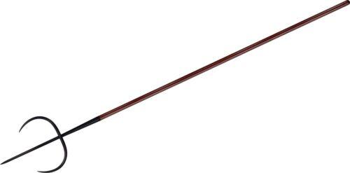 """Cold Steel Tiger Fork, 89"""" Spear, Ash Wood Shaft, 1055 Carbon - 95BTF"""