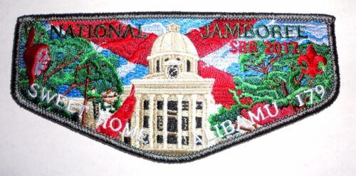 Alibamu Lodge 179 2017 National Scout Jamboree OA Flap Tukabatchee Area Council