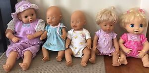 Baby born, baby alive dolls, accessories and clothing Trigg Stirling Area Preview