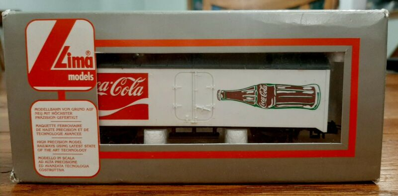 Coca-Cola Train Car By Lima Models. Italy.