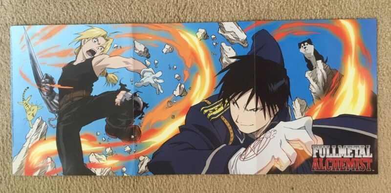 Rare Full Metal Alchemist Poster - 2008 Dead Space movie poster on other side