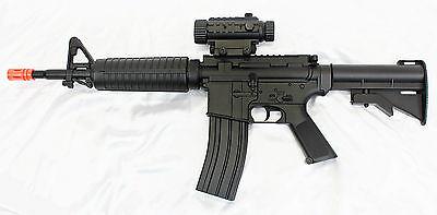 Well D92 M16 M4 Custom Electric Airsoft Rifle/Gun - Full/Semi Auto AEG + Extras for sale  Mankato