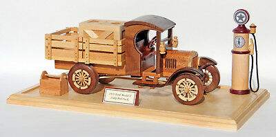 Woodworking plan to make a Ford Truck.  A plan, not a kit