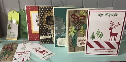 Card making, private class, Stampin' Up!