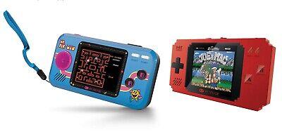 MY ARCADE Ms. Pac-Man Pocket Player Handheld + Pixel 300 Games w/ Data East Hits
