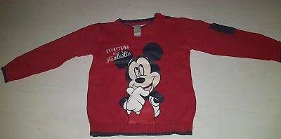 Mickey Mouse Kinder Pullover von Disney  C&A  in Größe. 92 gebraucht kaufen  Düsseldorf