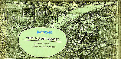 THE MUPPET MOVIE (1978) Storyboard--Finale Production Number Frame By Frame!