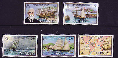 Guernsey 1983  Guernsey Shipping. Star of the West SG 282/6  MNH