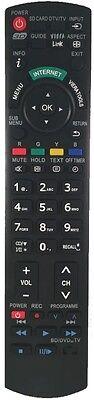 Ersatz Panasonic Viera Fernbedienung für N2QAYB000715