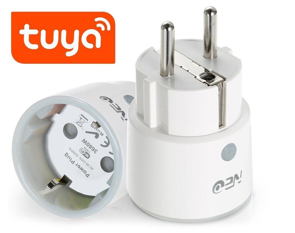 NEO WiFi PLUG Smart Steckdose 16A Schalter Energiemessung Tuya Google Home Alexa