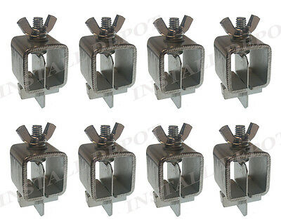 8 Pc Butt Welding Clamps Weld Sheet Metal Auto Car Truck Door Skin Panel Fender