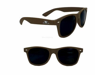 Jack Daniels Honey Sonnenbrille - Nerd Brille / Partybrille mit UV SCHUTZ in Br