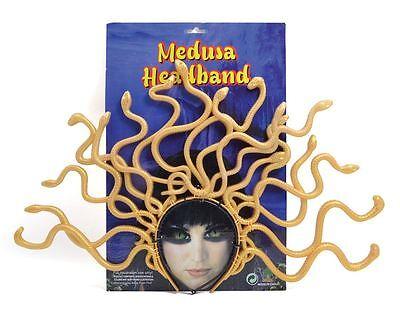 Greece Goddess Costume (Medusa Headband,Snake Headpiece,Greek Goddess Fancy Dress Accessory,Greece)