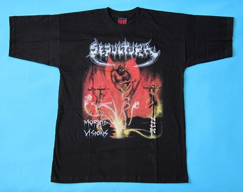 Sepultura - Morbid Visions  T-shirt NEW