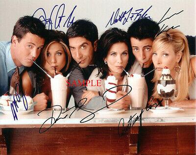Friends Tv Show Cast - FRIENDS TV SHOW CAST AUTOGRAPHED SIGNED 8x10 REPRINT PHOTO RP