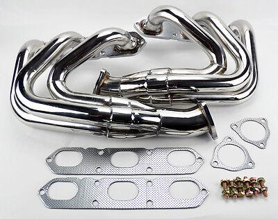 Porsche 996 997 911 NT 99-05 Exhaust Headers Stainless Steel w gaskets Non Turbo