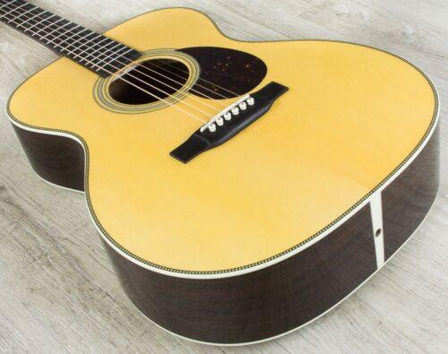 Martin Standard Series OM‑28 Orchestra Model Acoustic Guitar Natural + Case