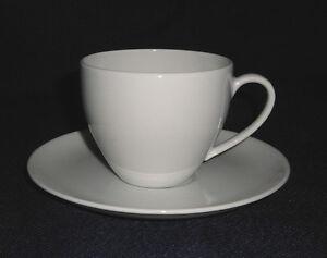 Arzberg-PORCELANA-FORMA-2000-Blanco-Taza-de-cafe-2-piezas