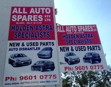 HOLDEN ASTRA PARTS SPECIALIST Warwick Farm Liverpool Area Preview